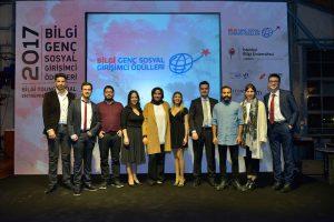 Bilgi Genç Sosyal Girişimci Ödülleri Töreni