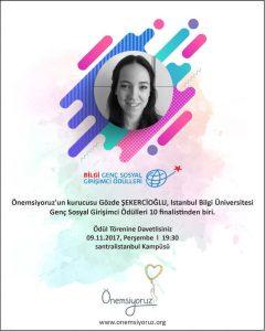 Bilgi Genç Sosyal Girişimci Ödülleri